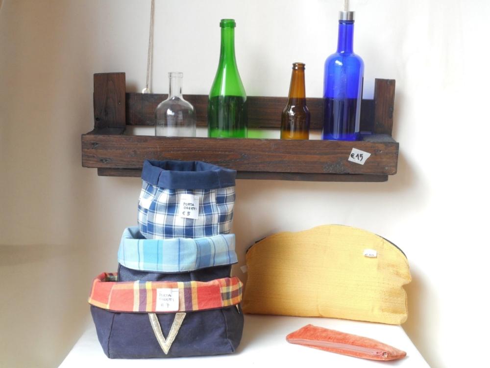 Porta bottiglie/fiori, cestini porta oggetti piccoli, cestino porta oggetti grande, beauty grande, astuccio